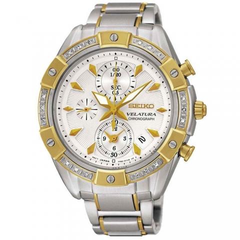 ساعت مچی عقربه ای زنانه کلاسیک برند سیکو مدل SNDV64P1