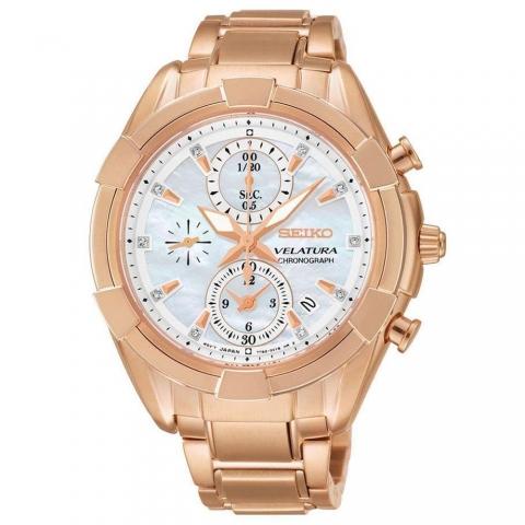 ساعت مچی عقربه ای زنانه کلاسیک برند سیکو مدل SNDW10P1