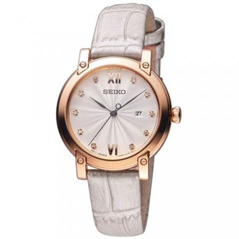 ساعت مچی عقربه ای زنانه کلاسیک برند سیکو مدل SXDG82P1