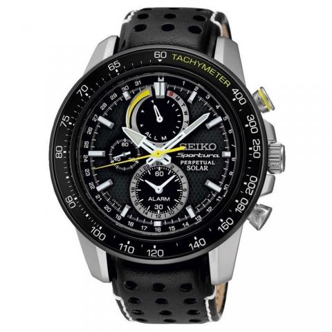 ساعت مچی عقربه ای مردانه اسپرت برند سیکو مدل SSC361P1