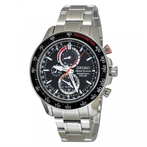 ساعت مچی عقربه ای مردانه اسپرت برند سیکو مدل SSC357P1