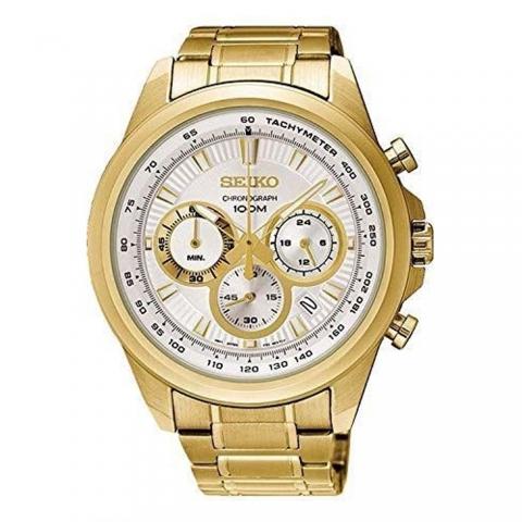 ساعت مچی عقربه ای مردانه کلاسیک برند سیکو مدل SSB254P1