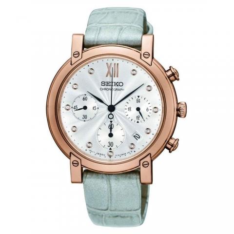 ساعت مچی عقربه ای زنانه کلاسیک برند سیکو مدل SRW834P1