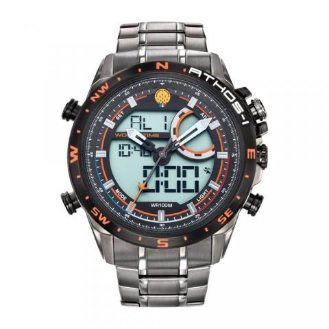 ساعت مچی عقربه ای-دیجیتال مردانه اسپرت برند پاتقیو دیفیقانس مدل 668044