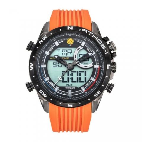 ساعت مچی عقربه ای-دیجیتال مردانه اسپرت برند پاتقیو دیفیقانس مدل 668040