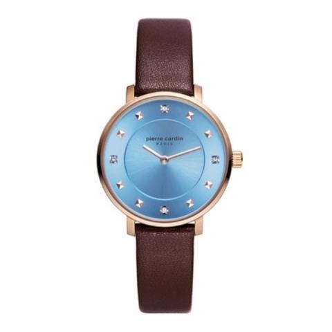 ساعت مچی عقربه ای زنانه کلاسیک برند پیرکاردین مدل PC902412F05