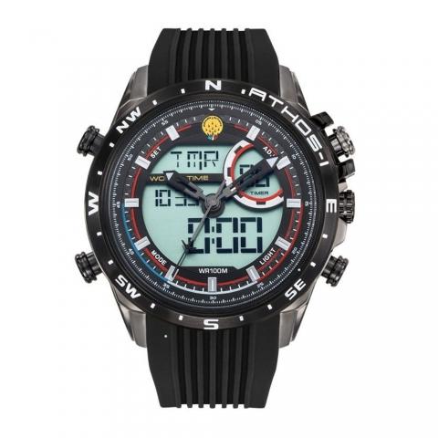 ساعت مچی عقربه ای-دیجیتال مردانه اسپرت برند پاتقیو دیفیقانس مدل 668042