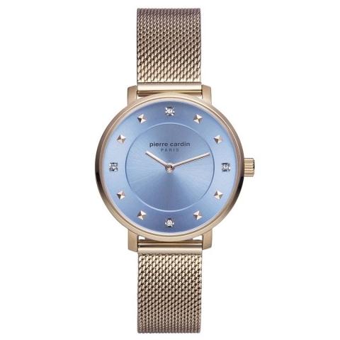 ساعت مچی عقربه ای زنانه کلاسیک برند پیرکاردین مدل PC902412F08