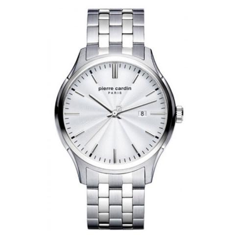 ساعت مچی عقربه ای مردانه کلاسیک برند پیرکاردین مدل PC902421F05