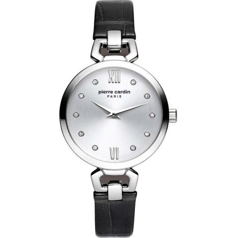 ساعت مچی عقربه ای زنانه کلاسیک برند پیرکاردین مدل PC902462F01