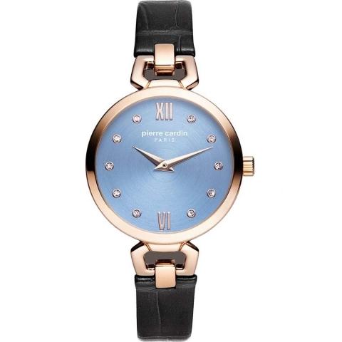 ساعت مچی عقربه ای زنانه کلاسیک برند پیرکاردین مدل PC902462F04