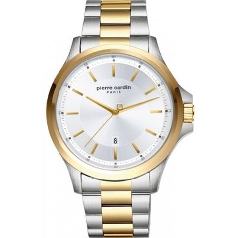 ساعت مچی عقربه ای مردانه کلاسیک برند پیرکاردین مدل PC902381F07