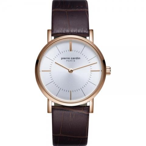 ساعت مچی عقربه ای زنانه کلاسیک برند پیرکاردین مدل PC902612F03