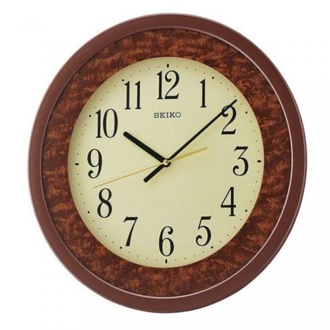 ساعت دیواری عقربه ای برند سیکو مدل QXA684BL