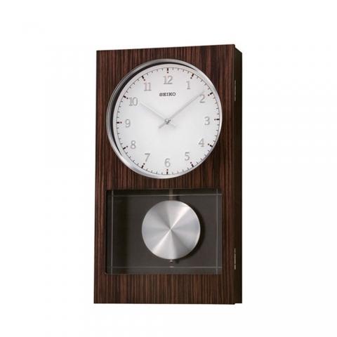 ساعت دیواری عقربه ای برند سیکو مدل QXH046BN