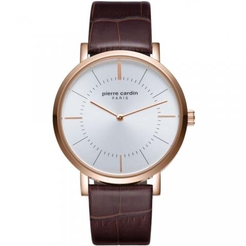 ساعت مچی عقربه ای مردانه کلاسیک برند پیرکاردین مدل PC902621F03