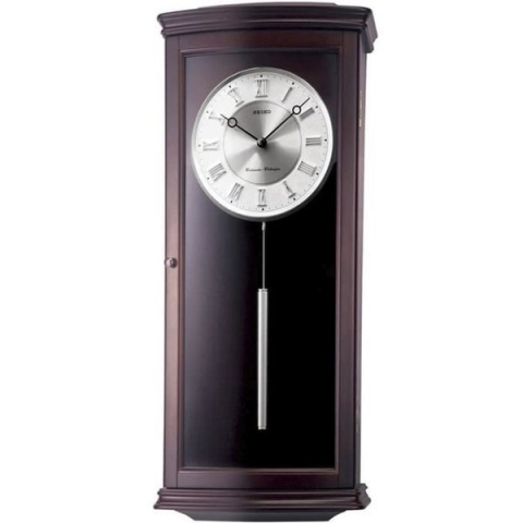 ساعت دیواری عقربه ای برند سیکو مدل QXH025BN