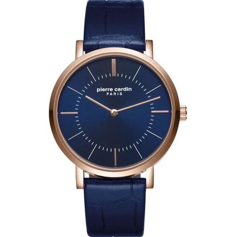 ساعت مچی عقربه ای مردانه کلاسیک برند پیرکاردین مدل PC902621F04