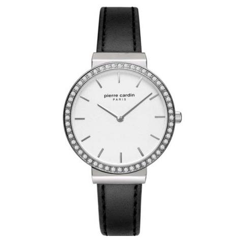ساعت مچی عقربه ای زنانه کلاسیک برند پیرکاردین مدل PC902352F01