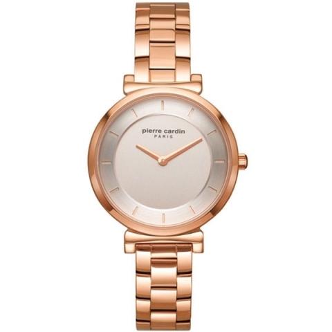 ساعت مچی عقربه ای زنانه کلاسیک برند پیرکاردین مدل PC902342F07