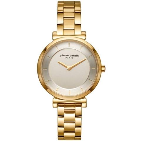 ساعت مچی عقربه ای زنانه کلاسیک برند پیرکاردین مدل PC902342F06