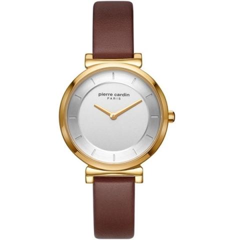 ساعت مچی عقربه ای زنانه کلاسیک برند پیرکاردین مدل PC902342F02