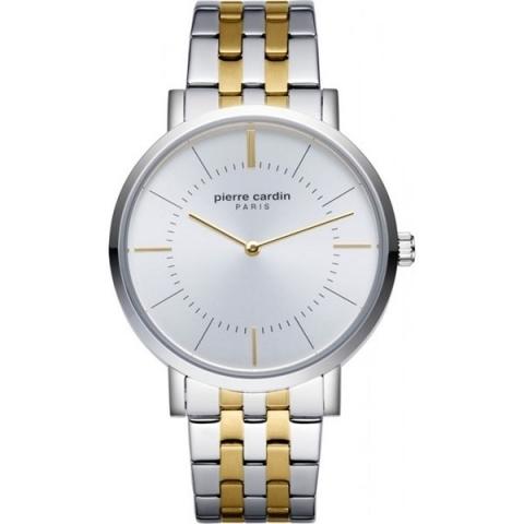 ساعت مچی عقربه ای مردانه کلاسیک برند پیرکاردین مدل PC902621F07