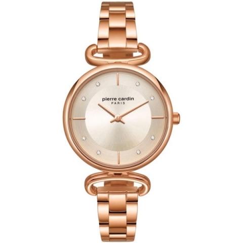 ساعت مچی عقربه ای زنانه کژوال برند پیرکاردین مدل PC902332F07