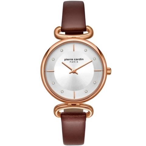 ساعت مچی عقربه ای زنانه کژوال برند پیرکاردین مدل PC902332F01