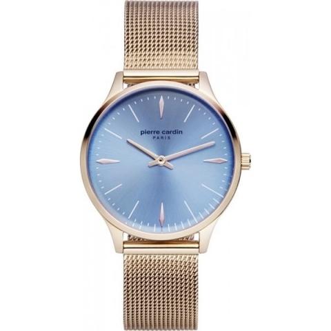 ساعت مچی عقربه ای زنانه کلاسیک برند پیرکاردین مدل PC902282F15