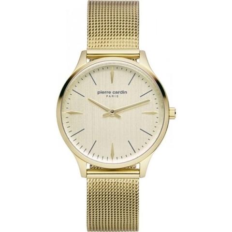ساعت مچی عقربه ای زنانه کلاسیک برند پیرکاردین مدل PC902282F14