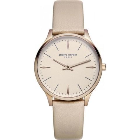 ساعت مچی عقربه ای زنانه کلاسیک برند پیرکاردین مدل PC902282F11