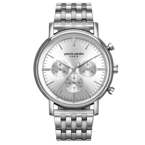 ساعت مچی عقربه ای مردانه کلاسیک برند پیرکاردین مدل PC902371F07