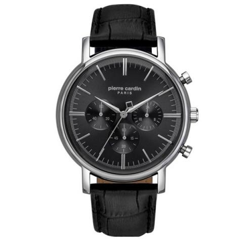 ساعت مچی عقربه ای مردانه کلاسیک برند پیرکاردین مدل PC902371F02