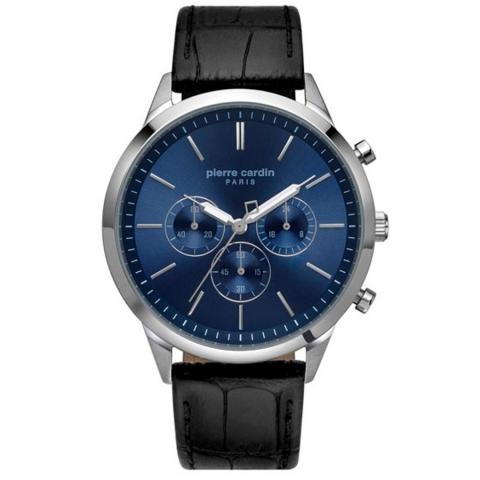 ساعت مچی عقربه ای مردانه کلاسیک برند پیرکاردین مدل PC902361F02