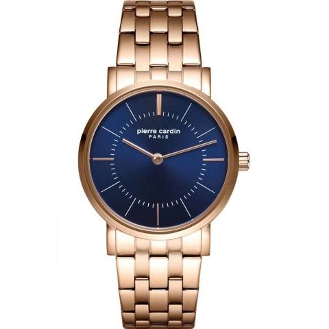 ساعت مچی عقربه ای زنانه کلاسیک برند پیرکاردین مدل PC902612F08