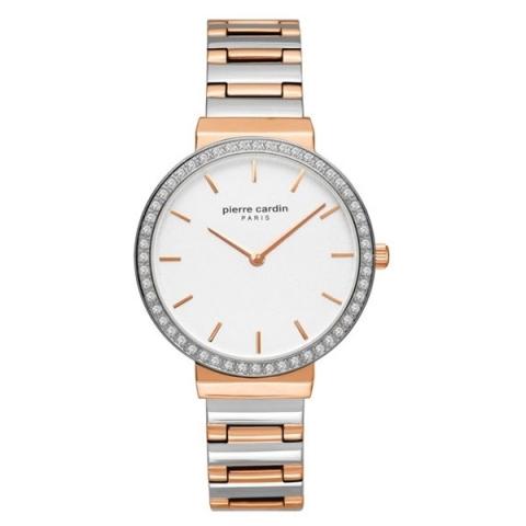 ساعت مچی عقربه ای زنانه کلاسیک برند پیرکاردین مدل PC902352F06