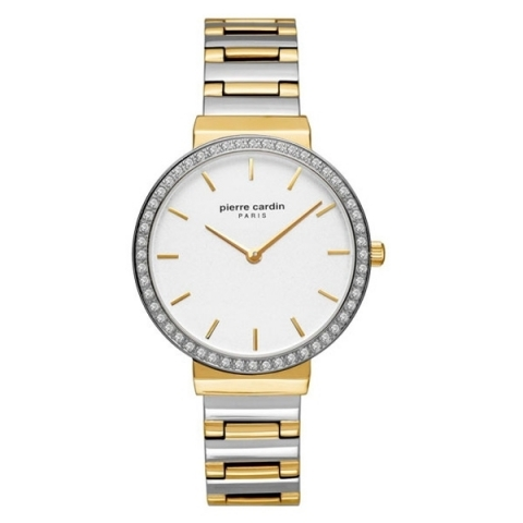 ساعت مچی عقربه ای زنانه کلاسیک برند پیرکاردین مدل PC902352F05
