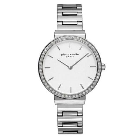 ساعت مچی عقربه ای زنانه کلاسیک برند پیرکاردین مدل PC902352F04