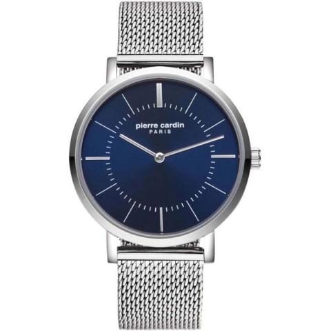 ساعت مچی عقربه ای مردانه کلاسیک برند پیرکاردین مدل PC902621F12