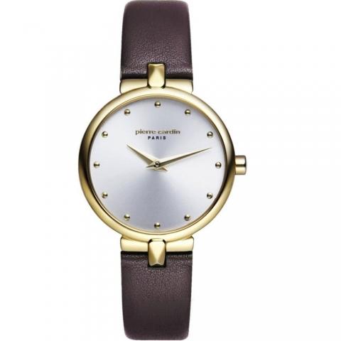 ساعت مچی عقربه ای زنانه کلاسیک برند پیرکاردین مدل PC902632F02