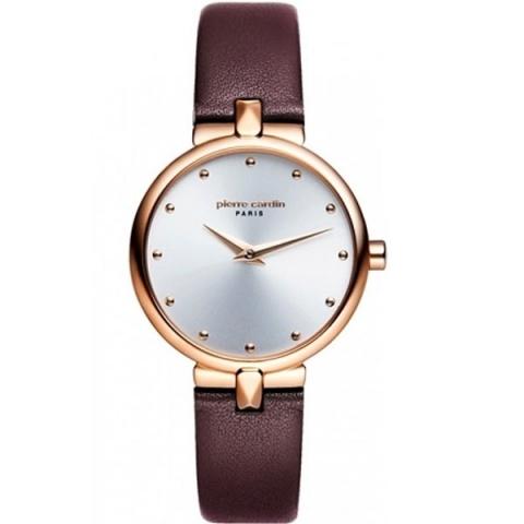 ساعت مچی عقربه ای زنانه کلاسیک برند پیرکاردین مدل PC902632F03