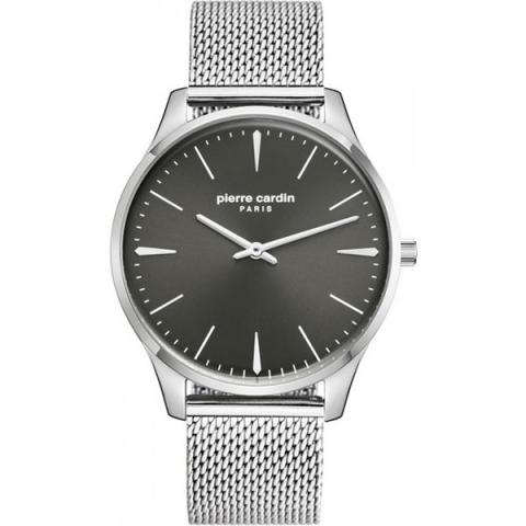 ساعت مچی عقربه ای مردانه کلاسیک برند پیرکاردین مدل PC902271F15