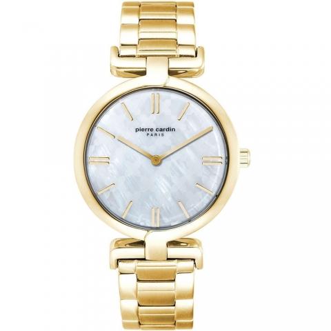 ساعت مچی عقربه ای زنانه کلاسیک برند پیرکاردین مدل PC902702F104