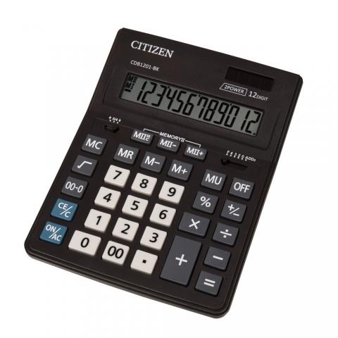 ماشین حساب برند سیتیزن مدل CDB1201-BK