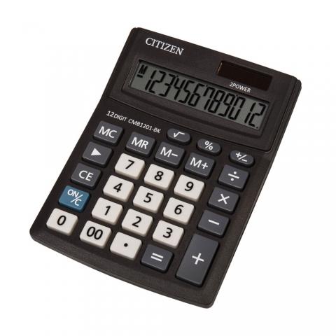ماشین حساب برند سیتیزن مدل CMB1201-BK