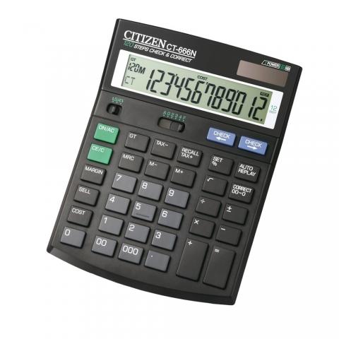 ماشین حساب برند سیتیزن مدل CT-666N