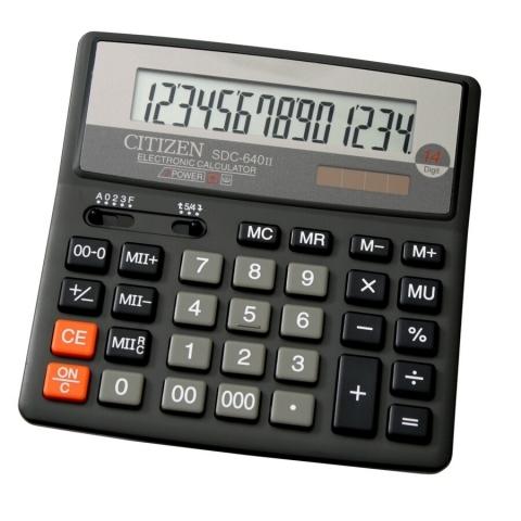 ماشین حساب برند سیتیزن مدل SDC-640II