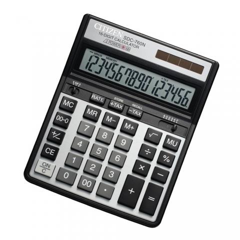 ماشین حساب برند سیتیزن مدل SDC-760N