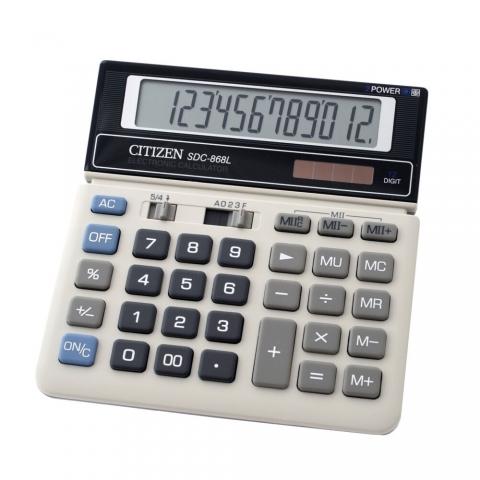 ماشین حساب برند سیتیزن مدل SDC-868L